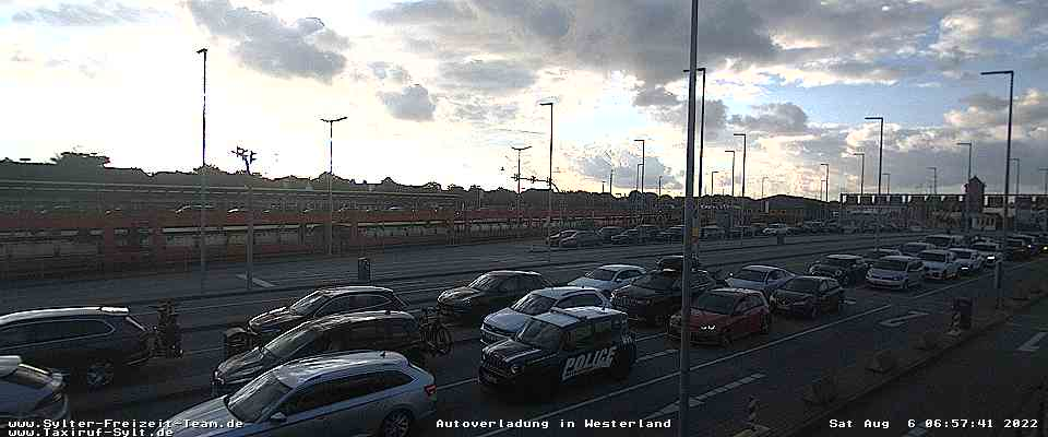 Webcam Autozug Westerland